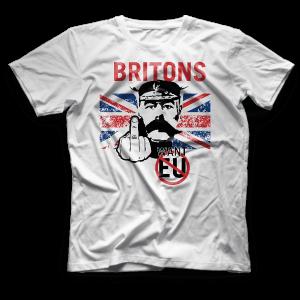 Britons Don't Want EU T-shirt