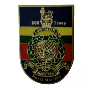 200 Troop Pin