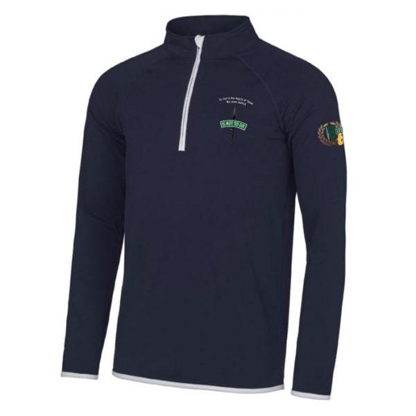 Is Not To Die - ½ zip Sweatshirt